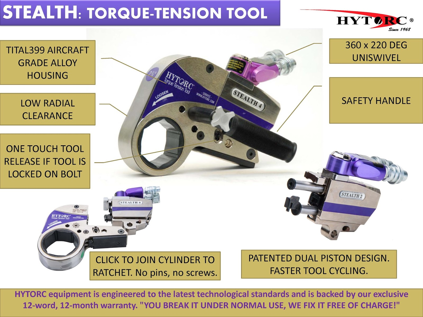 Hytorc Stealth 2 Manual
