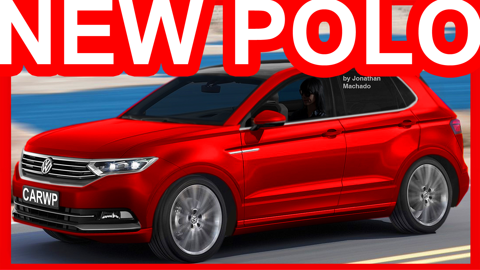 Novo Volkswagen Polo 2018 T Cross Breeze Concept Vw Carwp