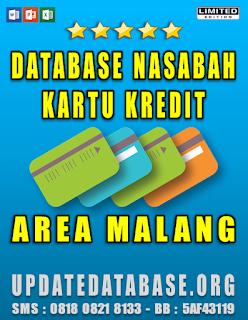 Jual Database Nasabah Kartu Kredit Malang