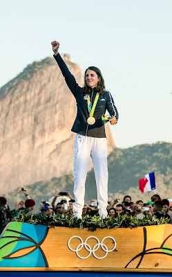 Charline Picon championne olympique !