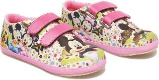 Sepatu Anak Perempuan Motif Miky Mouse BDA 756