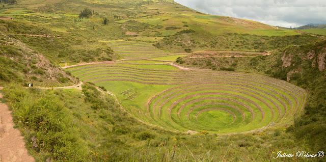 Laboratoire agricole de Moray, Vallée Sacrée, Pérou