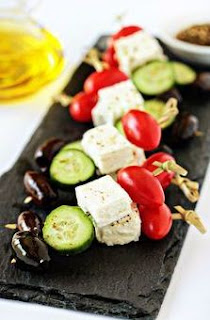 Greek Salad on Sticks