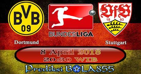 Prediksi Bola855 Borussia Dortmund vs VfB Stuttgart 8 April 2018