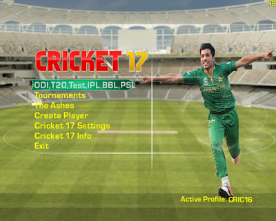 EA Sports Cricket 17