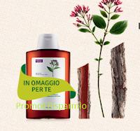 Logo Acquista e ricevi in omaggio uno shampoo alla chinina da 100 ml.