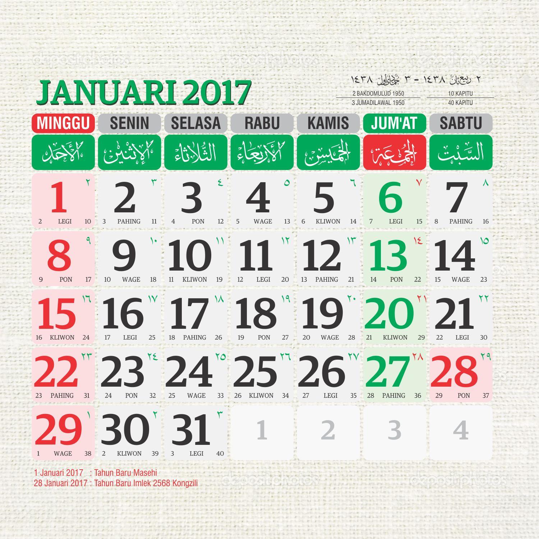 Calendar April Java : Download template kalender masehi dan