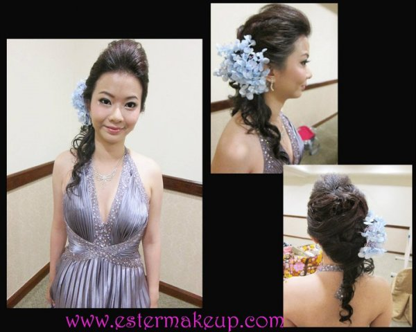 ester chun wedding makeup