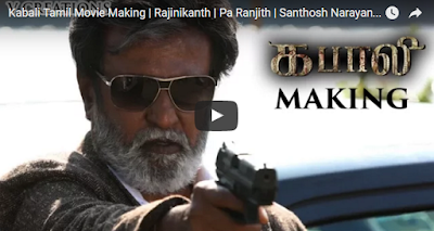 Kabali Tamil Movie Making  Rajinikanth  Pa Ranjith  Santhosh Narayanan