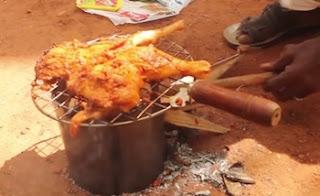 Chicken Leg Piece Fry in my Village