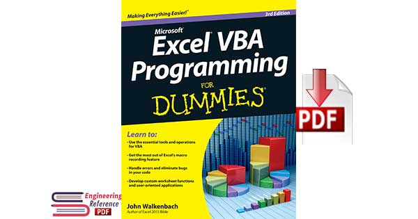 Excel® VBA Programming For Dummies®, 3rd Edition by John Walkenbach