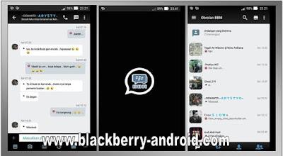 BBM MOD BLACK WHITE THEMES NEW V.2.12.0.9 APK