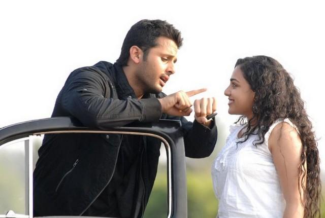 First Look : Nitya Menon And Nithin New Movie Ishq Latest
