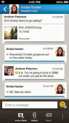 Download  BBM For iPhone Via iTunes App Store