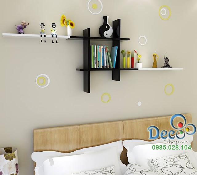 Kệ gỗ treo tường Deco KH 41