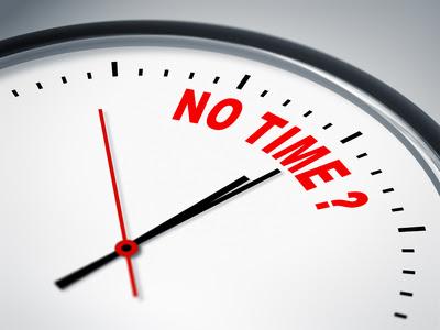 tak ada waktu