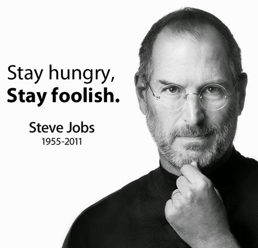 steve jobs quote stay hungry stay foolish bootstrap business blog