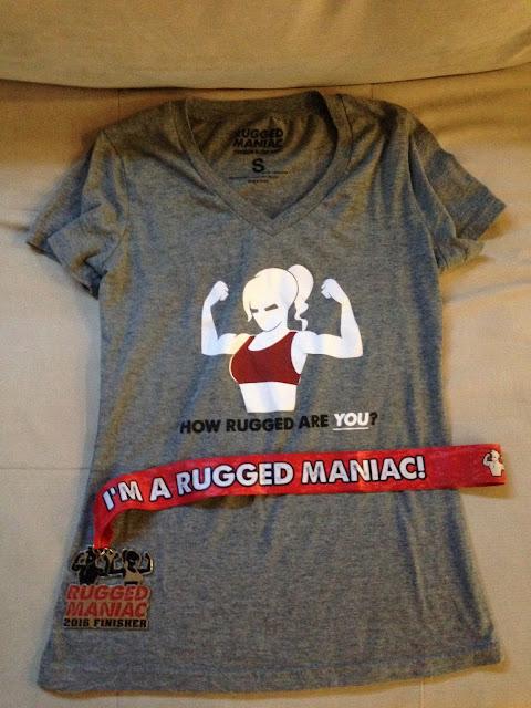 Rugged Maniac Swag