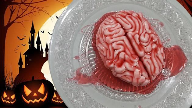 tarta de cerebro sangriento
