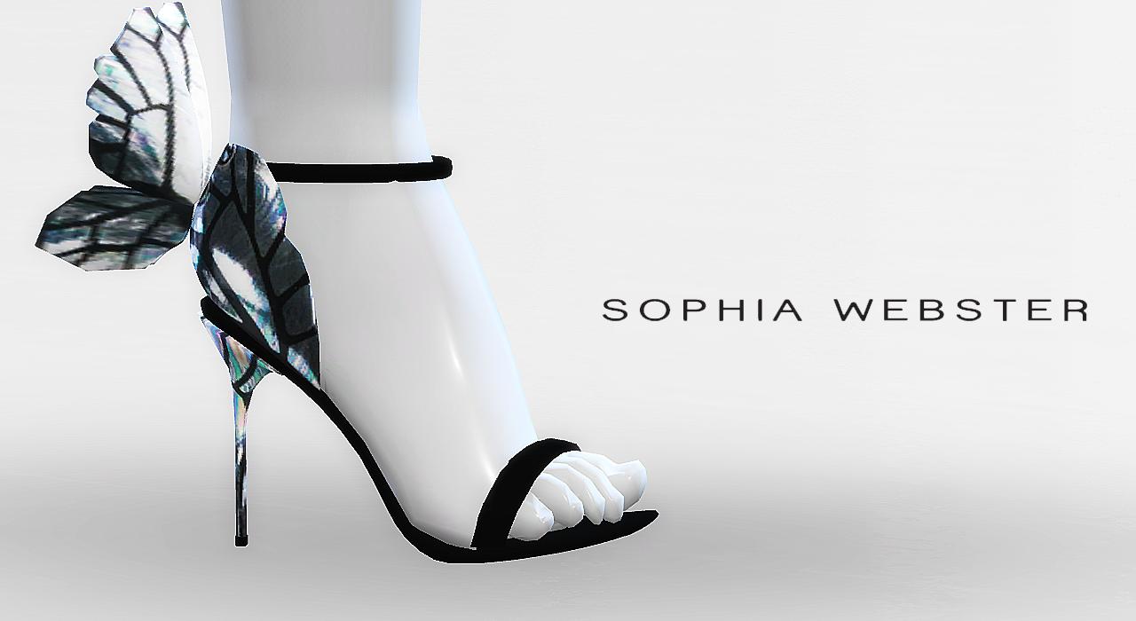 sophia webster butterfly sandals. Black Bedroom Furniture Sets. Home Design Ideas