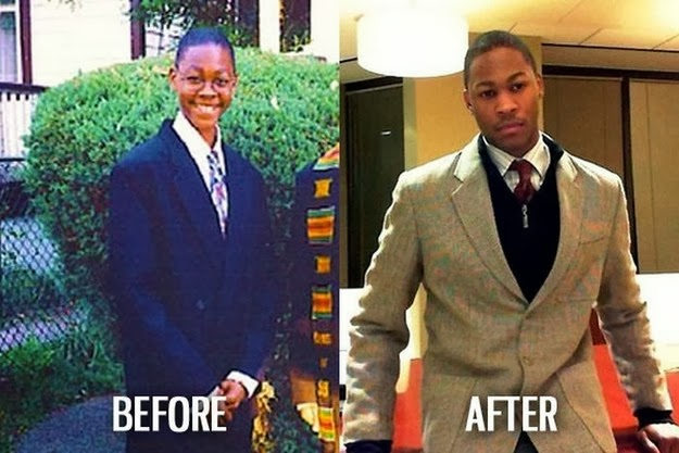 human face change