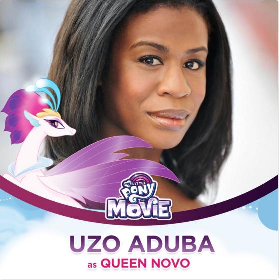 Uzo Aduba as Queen Novo The My Little Pony Movie