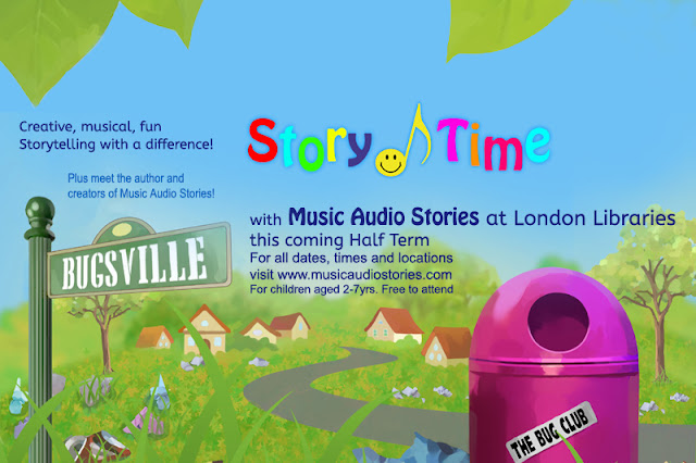 Music Audio stories at London Libraries image