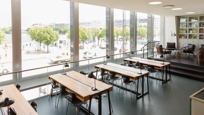 Ilia estudio interiorismo oficina aula o cafeter a for Aulas web arquitectura