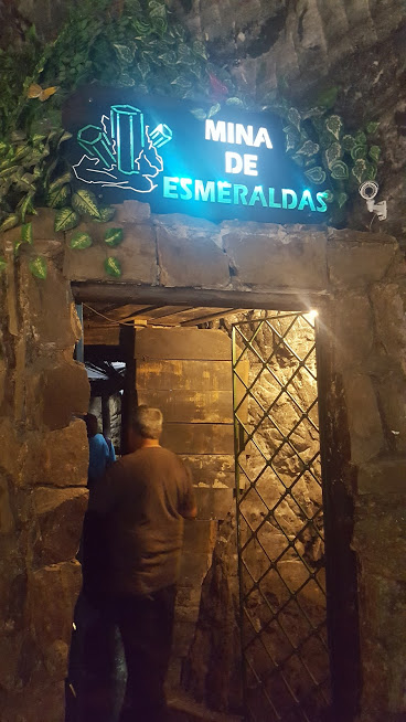 Mina de Esmeraldas na Catedral de Sal - Zaquipará