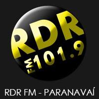 Rádio RDR FM 101,9 de Paranavaí PR