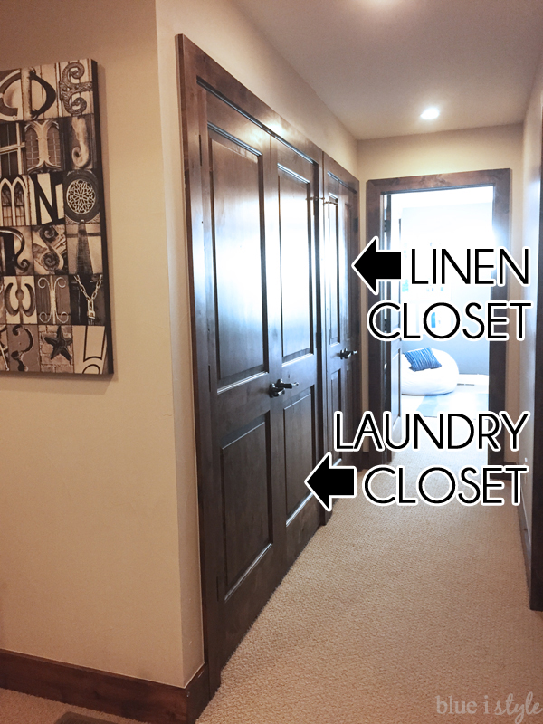 Despite Being Accessed From Two Different Sets Of Doors, Internally The  Laundry And Linen Closet Are Open Together.