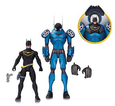 DC Comics Greg Capullo Batman Designer Series Wave 5 Action Figures - GCPD Armored Batman 2 Pack