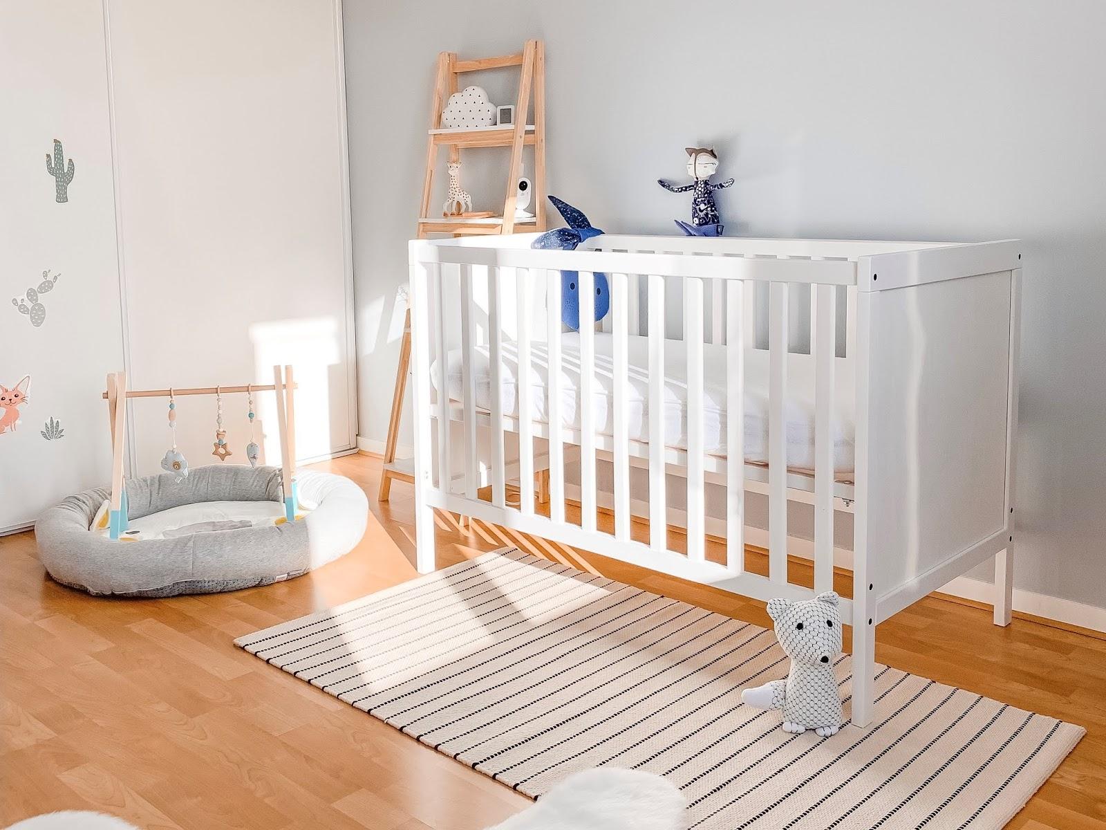 La chambre de notre bébé - Les Gommettes de Melo