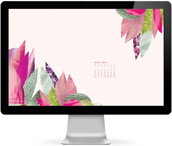 free desktop wallpaper, collage desktop wallpaper, desktop, freebie, papersquid, april 2016 calendar
