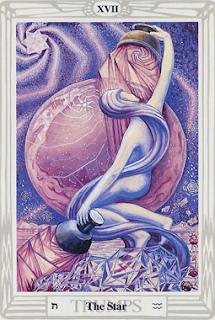 The Star XVII Thoth Tarot Atu