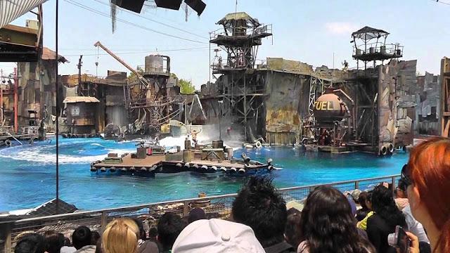 Water World no Universal Studios Hollywood