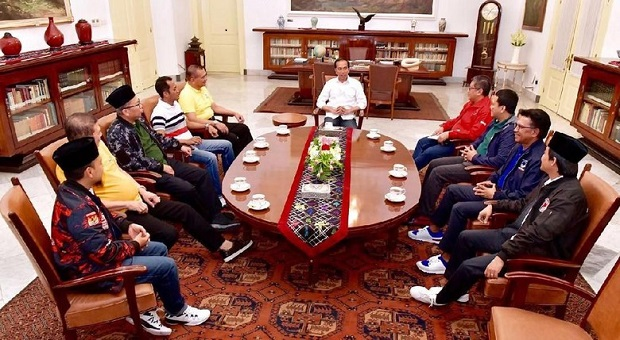 Pilpres 2019, Presiden Minta Parpol Koalisi Bentuk Jokowi Center