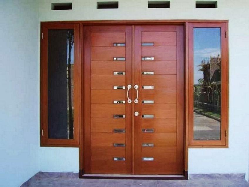 pintu double minimalis 1