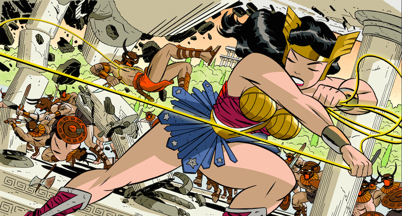 Wonder Woman #37 by Darwyn Cooke.