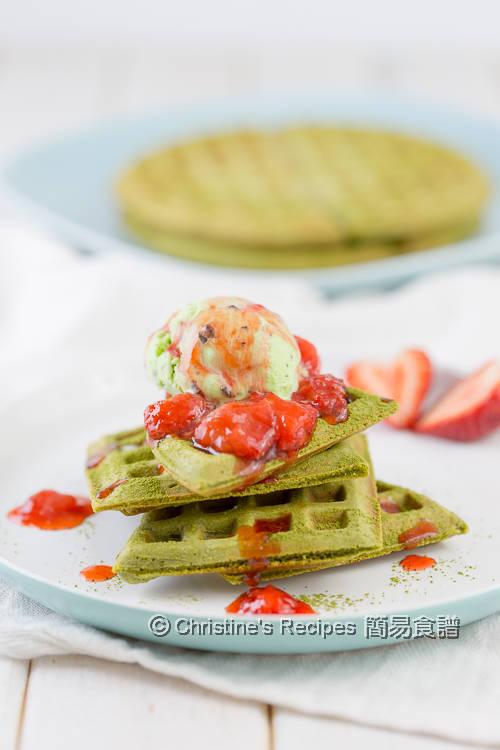 抹茶窩夫 Matcha Waffles01