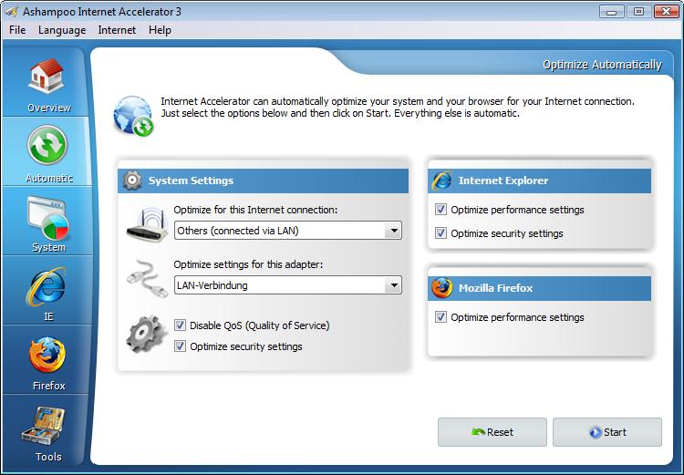 تحميل برنامج Ashampoo Internet Accelerator لتسريع الانترنت ...