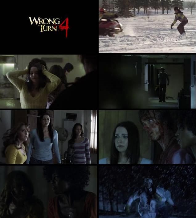 Wrong Turn 4 Bloody Beginnings 2011 English 480p BRRip
