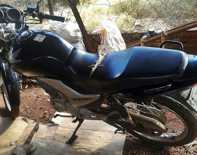 Nova Cantu: PM recupera motocicleta furtada