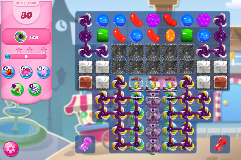 Candy Crush Saga level 5703