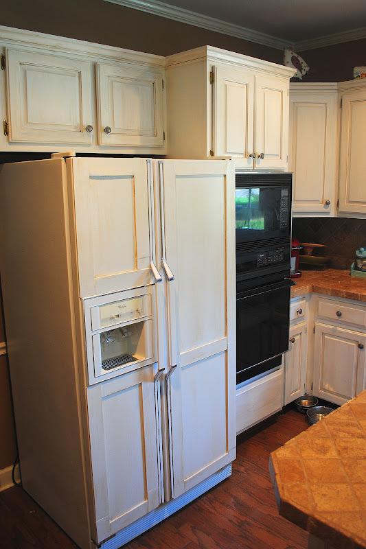 Lovely Amazing Grays: DIY Paneled Refrigerator TL04
