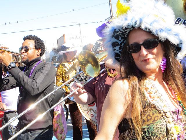 Venice Beach MArdi Gras Parade 2013 Photos