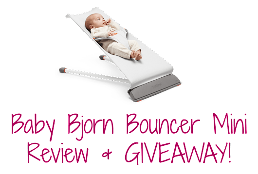Baby Bjorn Bouncer Mini Review & GIVEAWAY! ~ The Styled Child