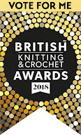 I'm nominated in the Favourite Knitting Blog category!  I'd love you to vote for me - click here!
