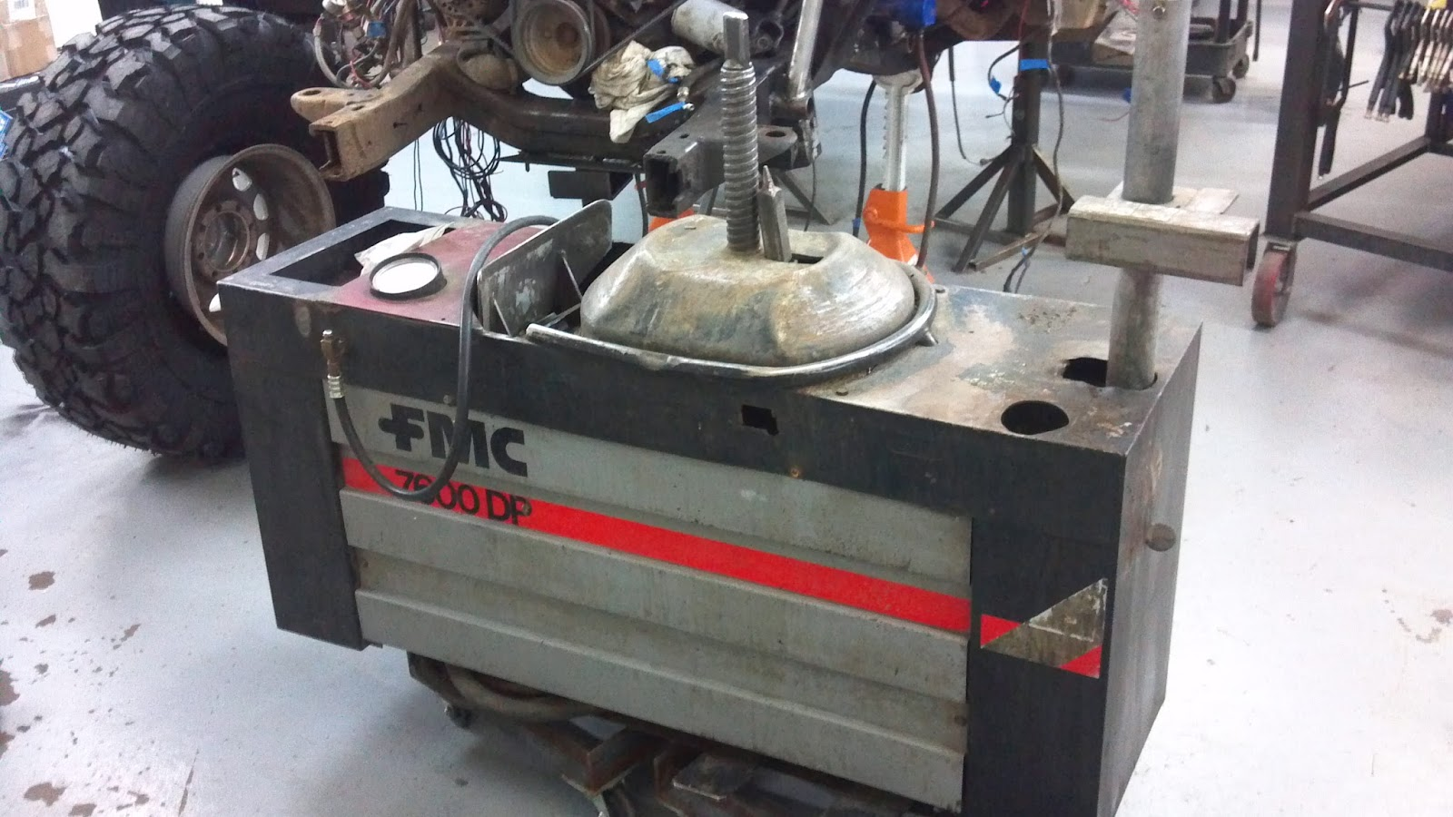 Brucker Brothers For Sale Used Fmc Snap On 7600 Dp Tire Changer