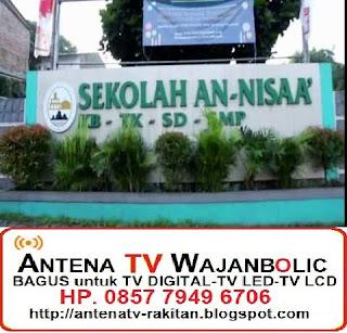Jual ANTENA TV WAJANBOLIC Sekolah Annisa PONDOK AREN TANGERANG SELATAN